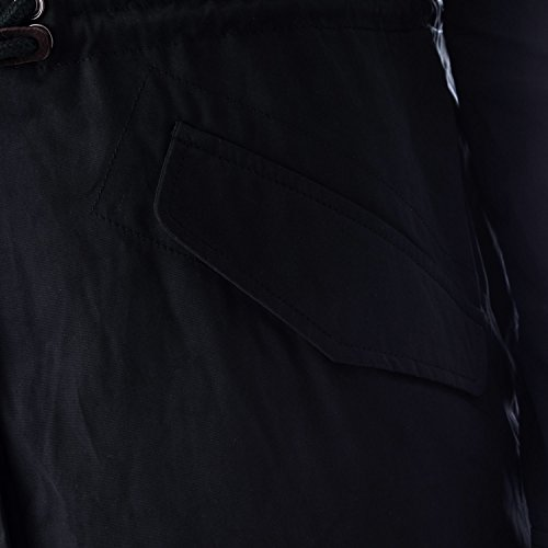 onlJADE CONTRAST LONG PARKA COAT OTW Black