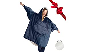 THE COMFY: Original Blanket Sweatshirt, Seen on Shark Tank, Invented by 2 Brothers, Warm, Soft, Cozy, Multiple Colors, 1 Size Fits All, Men, Women, Girls, Boys, Friends