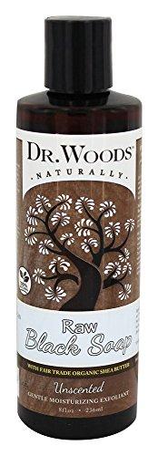 Dr. Woods - Sapone nero grezzo liquido con il burro