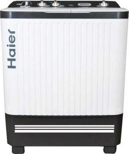 Haier 7.2 kg Semi-Automatic Top Loading Washing Machine (HTW72-187S S-1,...