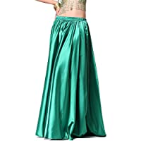 Donne Danzawea Danza del ventre Gonne Tribal Danza Costumes Satin Long Swing Maxi Gonne Full Circle Gonne