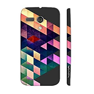 Motorola Moto G 1st Gen Abstract Art 6 designer mobile hard shell case by Enthopia