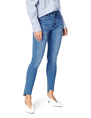Find. jeans skinny donna, blu (mid blue), s