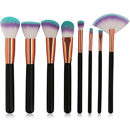 Pinceau Maquillage Maquillage Set de pinceaux maquillage 8pcs composent by JMETRIC