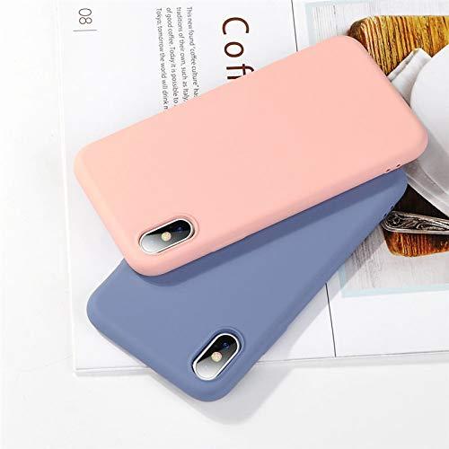 ALAX Handyhülle Mode Candy Farbe Handyhülle für iPhone Einfache Plain Silikonhülle für iPhoneX Weiche TPU Case-in Fitted Cases von Handys & Telekommunikation, grün, für 6 Plus 6s Plus