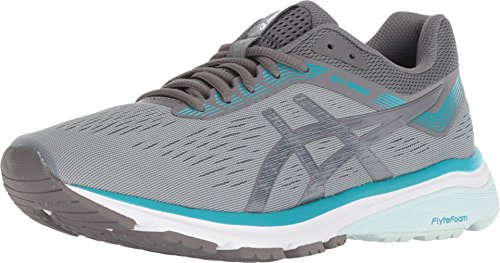 ASICS GT-1000 7 Stone Grey/Carbon Women's Running Shoes