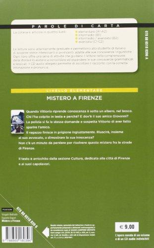 Mistero a Firenze. Livello 1. Con CD Audio