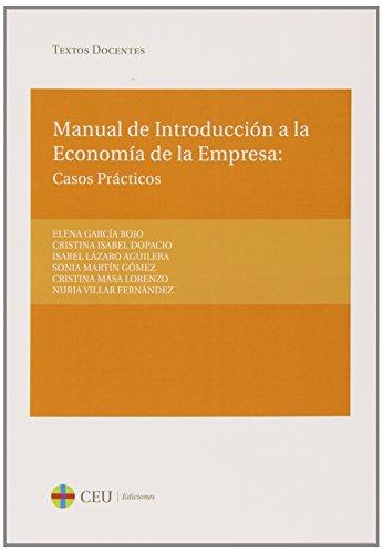 Manual de introducción a la Economía de la Empresa (Textos Docentes)