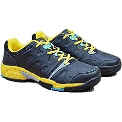 Mr. LQ - Bádminton profesional / tenis / zapatillas de tenis de mesa , black , 42