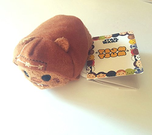 New Disney Store mini 8,9 cm tsum tsum Wicket dem Ewok Plüsch (Star Wars Kollektion) (Bösewicht Aus White Snow)