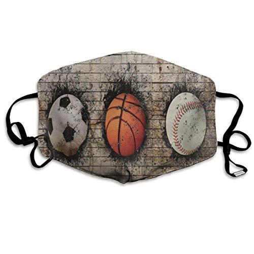 Zcfhike Benutzerdefinierte Mundmaske Anti-Staub Horrible Schädel Gesichtsmaske Atmungsaktive Maske mit Verstellbarer Ohrschlaufe Winddicht und Warm Multicolor6 - Küste Hose