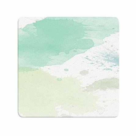 Cuddly Wonderful Quality Mouse Pads Mint Ink Pattern Customised Glossy