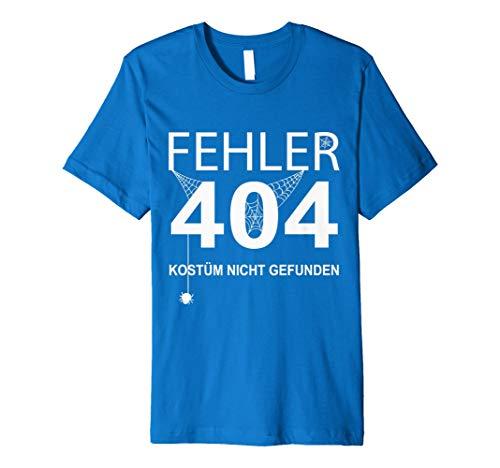 Kostüm 404 Shirt Fehler - Halloween T-Shirt - Fehler 404 Kostüm nicht gefunden