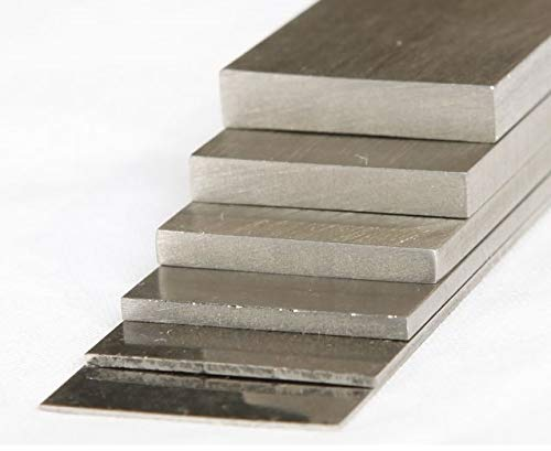 Preisvergleich Produktbild RP-TOOLS Unterlegplatten Edelstahl für Nivellierung Hebebühnen,  Montiermaschinen. 10-tlg.