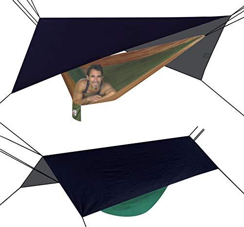 Hammock Bliss Extra Large Rain Fly - Regenschutz oder Sonnenschutz über der Hängematte - Eno Hängematte Net
