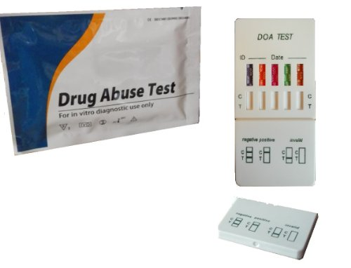 3x Drug Testen/Test Kits-5Main Street Drogen getestet (Kokain, Heroin, Speed, Cannabis, mdma T-) (Home Kokain Test)