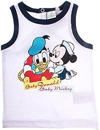 Débardeur bébé garçon Baby Mickey et Baby Donald de 12 à 30mois