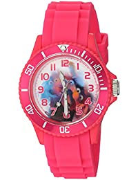 Disney Women's 'Muppets' Quartz Plastic Casual Watch, Color:Pink (Model: WDS000360)