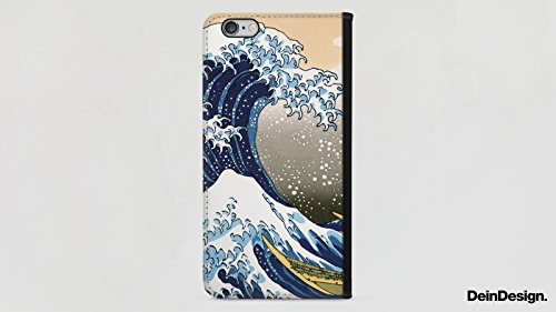 Apple iPhone X Silikon Hülle Case Schutzhülle Vincent van Gogh The Starry Night Kunst Sideflip Tasche schwarz