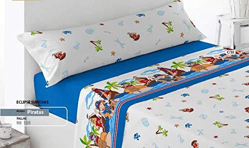 Energy Colors Textil - Hogar - Atlanta - Juego Sábanas Estampada Infantil...