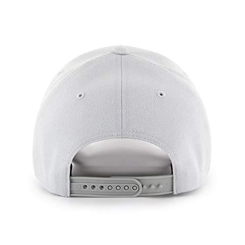 Imagen de  mvp snapback yankees by 47 brand  de beisbol talla única  plata  alternativa