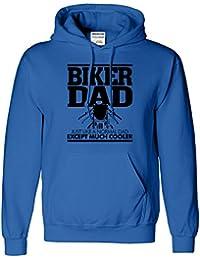 Biker DAD Herren Hoodie-Geschenk für Dad Jumper Hoody Sweat Top