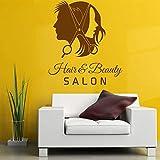 Gleecare Wandaufkleber Friseur Lounge Sofa Hintergrund abnehmbare dekorative Malerei Wohnzimmer schlafzimmerwand Aufkleber