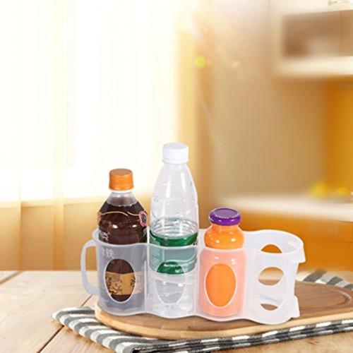 andensoner Aufbewahrungsbox Küche Kühlschrank Getränkeflasche Halter Kühlschrank Kühlschrank Organizer für Bier Soda Dose (Soda-halter Kühlschrank)