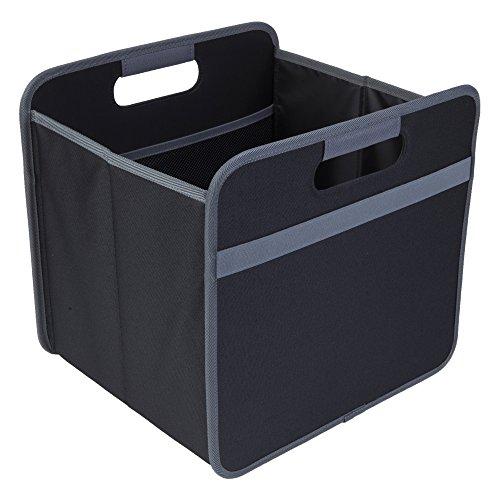 Faltbox Multi Lava Schwarz / Uni 32x30x27,5cm abwischbar stabil Polyester platzsparend Homeoffice Geschäftsreise Büro Ablage mit Griffen Archiv Arbeitsmaterial Unterlagen