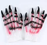 Bearony Halloween Látex Werewolf Horror Prop Glove Horror Show Werewolf Gloves (1Pair)...