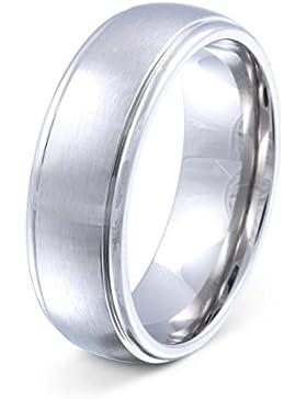 Flame -Ring Trauring Antragsring Partnerring Edelstahl E-AC-H-og