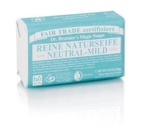 Baby Mild Bar Soap (Dr. Bronner's - Bar Soap Neutral-Mild - Reine Naturseife)