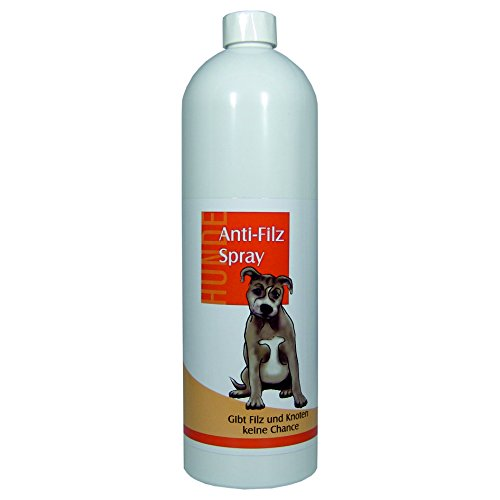 FellOn Anti Filz 1000 ml für Hunde | Entfilzungsmittel | Entfilzungsspray | Entfilzung für Hunde | Fellentfilzung