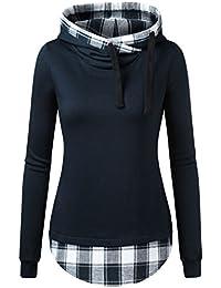 c75b5d3d07b8 Amazon.de  Pullover, Strickjacken   Sweatshirts - Damen  Bekleidung ...