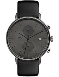 Danish Design Herren-Armbanduhr IQ16Q975 Analog Quarz Leder IQ16Q975