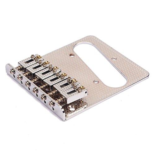 ROSENICE Professional 6 String sella ponte per chitarra elettrica di Fender - 1 pezzo - Telecaster Humbucker