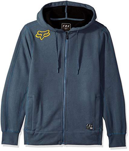 Fox Herren Reformed Bonded Sherpa Zip Fleece Kapuzenpulli, Blue Steel, Mittel -