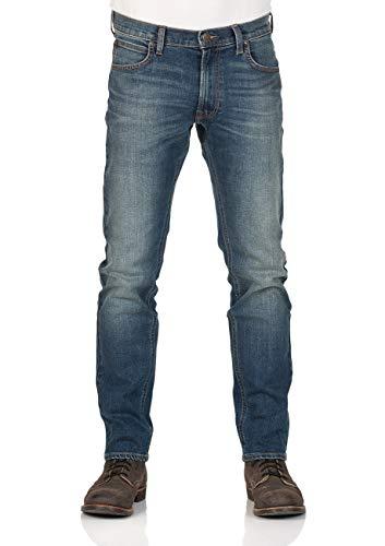 Lee Herren Jeans Daren Zip Fly - Regular Fit - Blau - Blue Worn, Größe:W 36 L 34, Farbe:Blue Worn (DKVE)