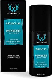 Essential Impress Pure Essence Spray by Montwood - perfume for men, 120 ml