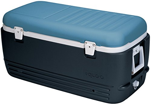 Igloo Nevera portátil Maxcold 100 Coolbox Unisex, Color Azul, 95 L