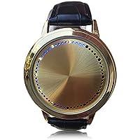 Rubility®Display a LED dello schermo Smart Touch Moda creativa impermeabile studenti vigilanza degli amanti orologio da polso - Polso Amanti Orologi