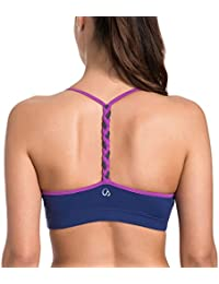 f8cfb3327d CRZ YOGA Women s Light Support Braided T-Back Fashion Yoga Sports Bra
