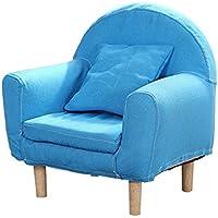 Preisvergleich für ALUK- small stool Kinder kleines Sofa, einfache Moderne Sitz, Kinderzimmer Lesen Hocker, Stoff waschbar Sitz bequemes Licht Mini Sofa L43cm * H51cm