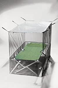 Pyramid Box Mosquito Net - Single Green