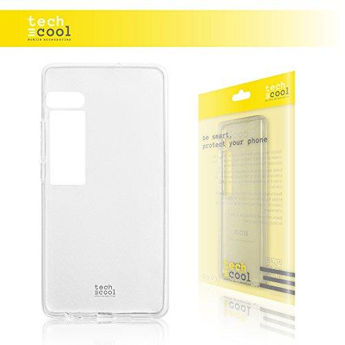 TechCool Meizu Pro 7 Plus Hülle, SchutzHülle Premium Soft Flex TPU Silikon Transparent für Meizu Pro 7 Plus l Case, Cover, Handy [Ultra Dünn 1,5mm] [Kratzfest] (Klar)