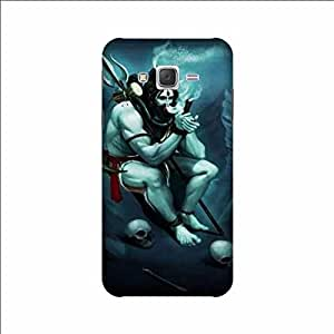 Yashas High Quality Designer Printed Case & Cover for Samsung Galaxy J2 (2015 Model) (Lord Shiva)