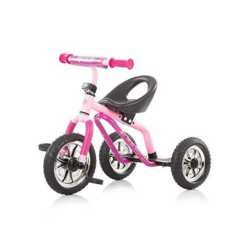 Chipolino Dreirad Sprinter ab 3 Jahre, maximale Traglast 25 kg, höhenverstellbar rosa