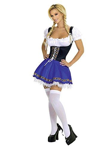 (Sexy Service Wench Bier-Girl Kostüm für Erwachsene)