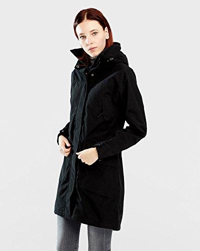 Didriksons Agnes Women's Coat - Winterjacke, Größe_Bekleidung_NR:46, Didriksons_Farbe:black