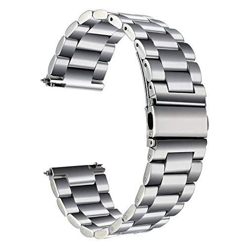 TRUMiRR 22 mm Cinturino dell'Acciaio Inossidabile rapido Cinghia di Uscita per Samsung Galaxy Watch 46mm, Gear S3 Frontier Classic